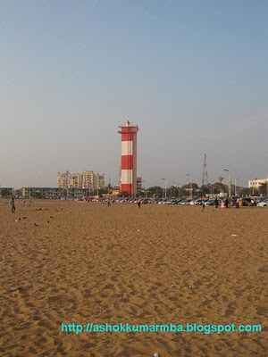 Light house - marina beach - chennai