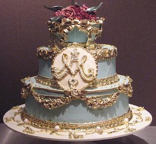 Rococo Wedding Cake