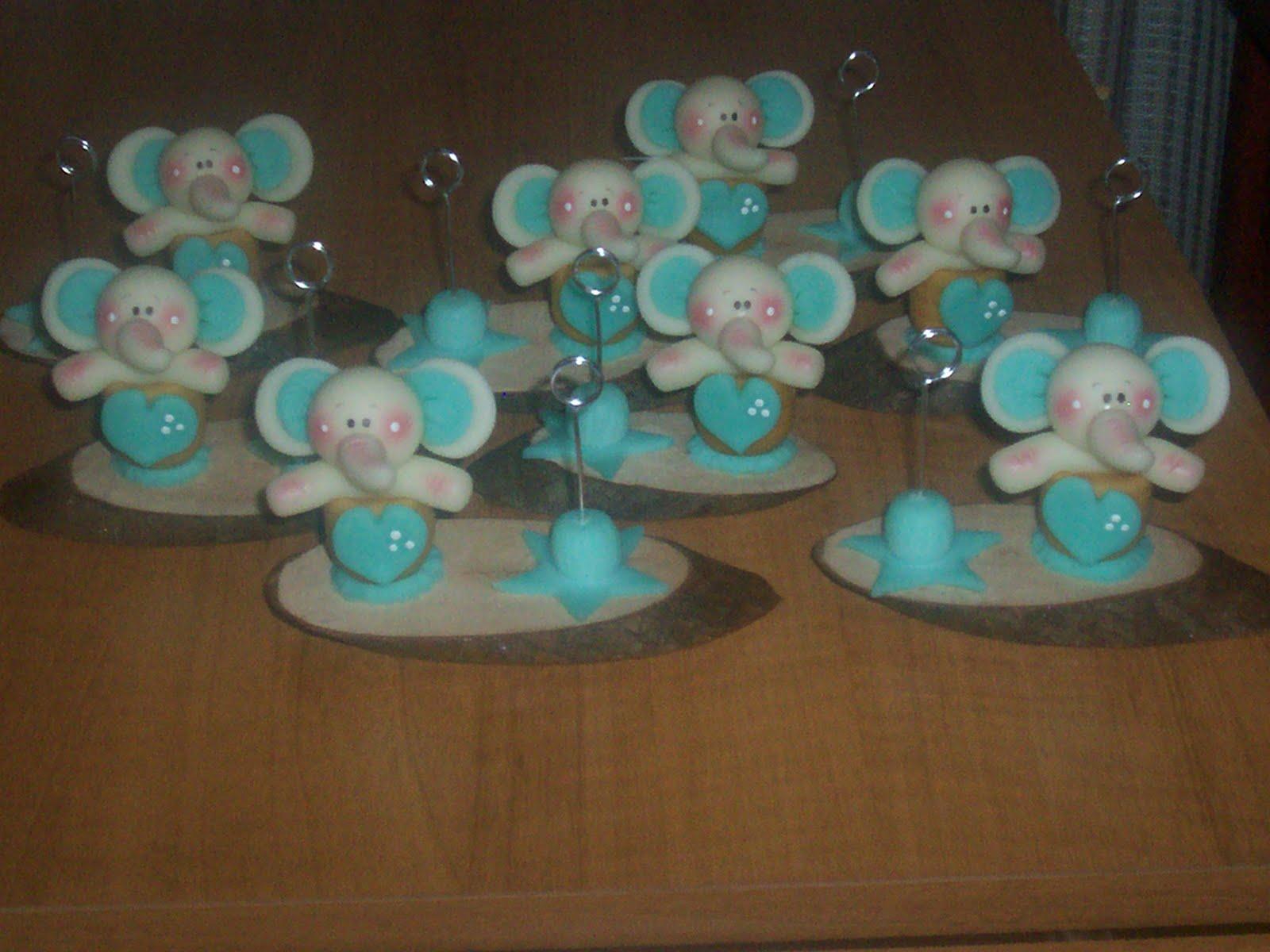 Souvenirs de bautismo porcelana fria - Imagui