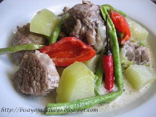 ADOBONG BAKA SA GATA ( BEEF ADOBO WITH COCONUT MILK)  …