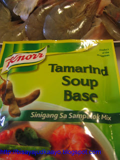 how to cook sinigang n isda