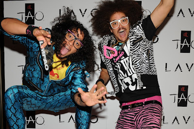 Fashion Wear  Vegas on The Launch Of Their Party Rock Clothing Line At Lavo Redfoo Sky Blu