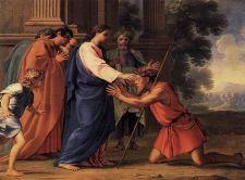 Jesús curando al ciego Bartimeo