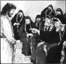 Jesús con los saduceos