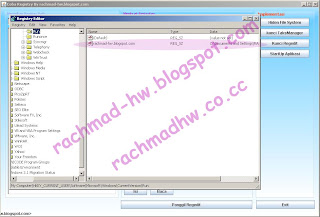 Memodifikasi Registry Windows Dengan Menggunakan java (Windows Registry Modification With Java)
