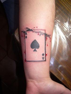 Ace of Spades Tattoos. Ace of Spades Tattoos