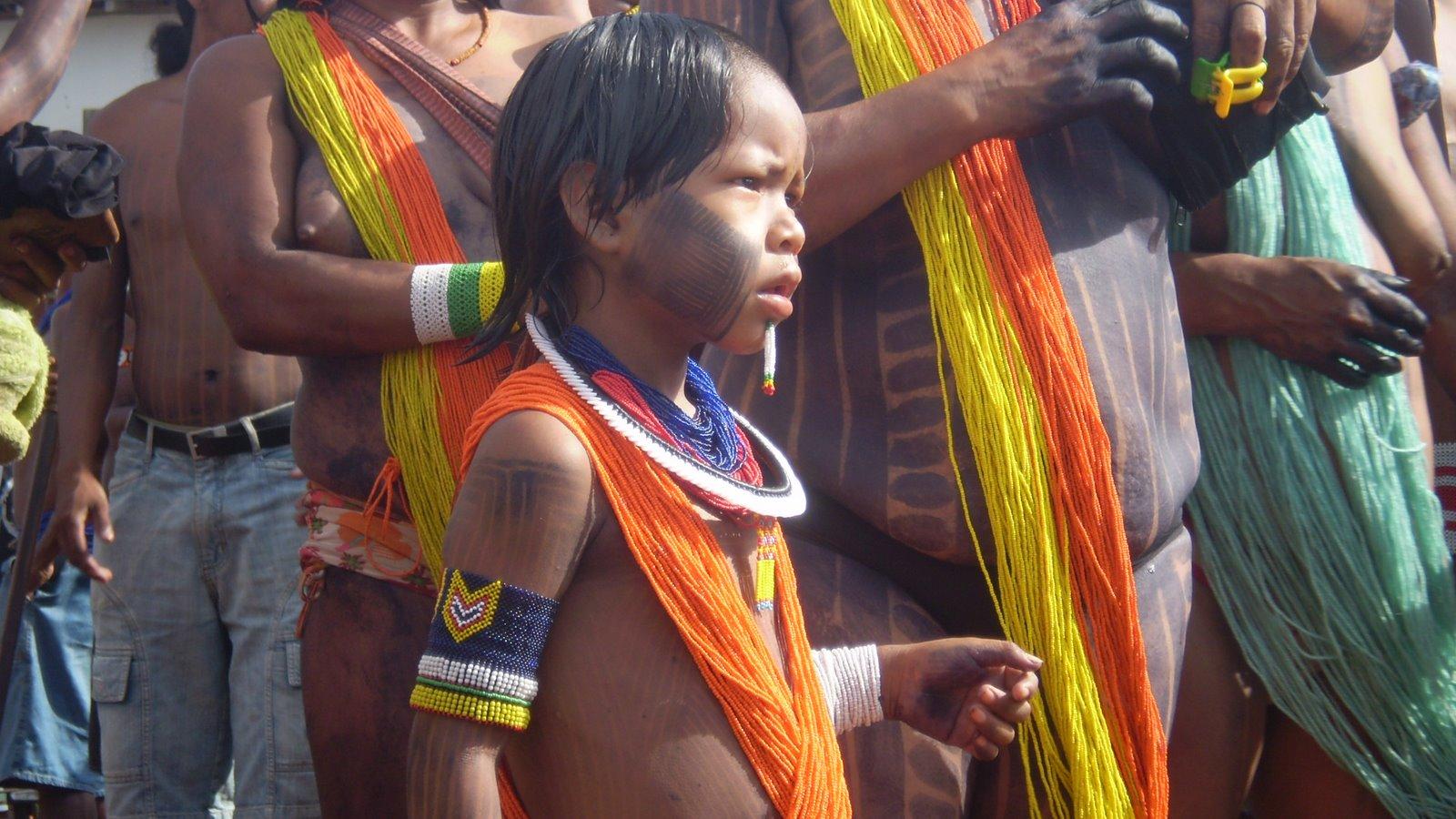 Amazônidas: pequeno kaiapó