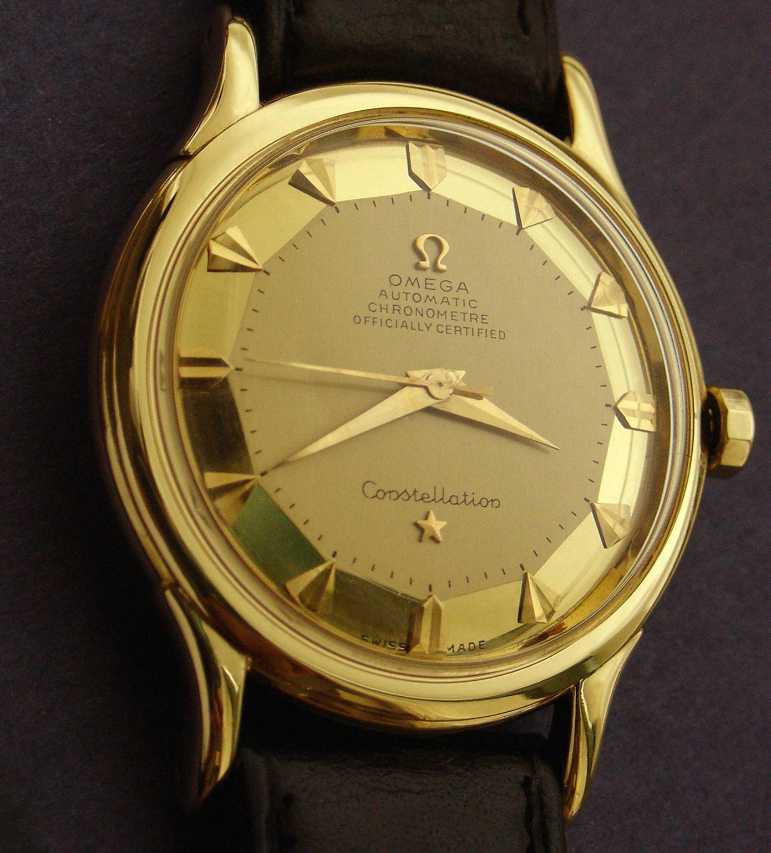 Omega Constellation Gold Vintage