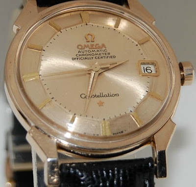 Fake 14K Omega Constellation Watch