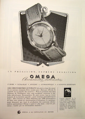 Omega 1950s Chronometer advertisement