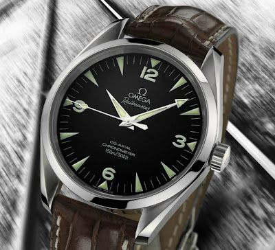 Omega Railmaster Co-axial Chronometer