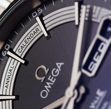 Omega De Ville Hour Vision Calendar Watch
