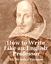 How to Write Like an English Professor
