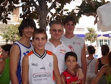 Jugadores de la Andaluza - Subcampeones de España