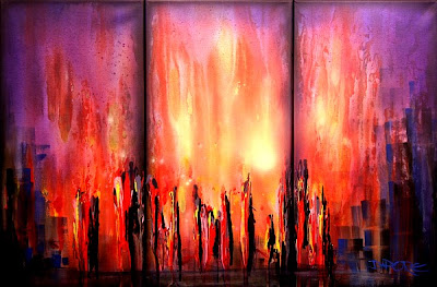 Abstract Paintings Art