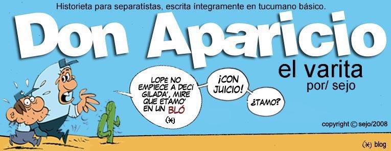 Don Aparicio ...