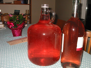 rhubarb+wine+finished How to Make Rhubarb Wine