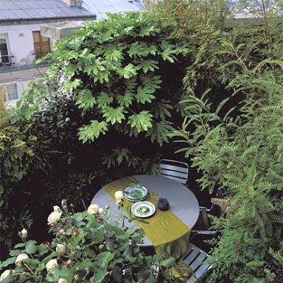 Mrs boho terrazas cenar en la terraza for Marie claire maison terrasse