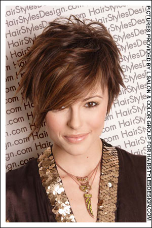 funky hairstyles for girls with short hair. Labels: Short Hairstyles idea