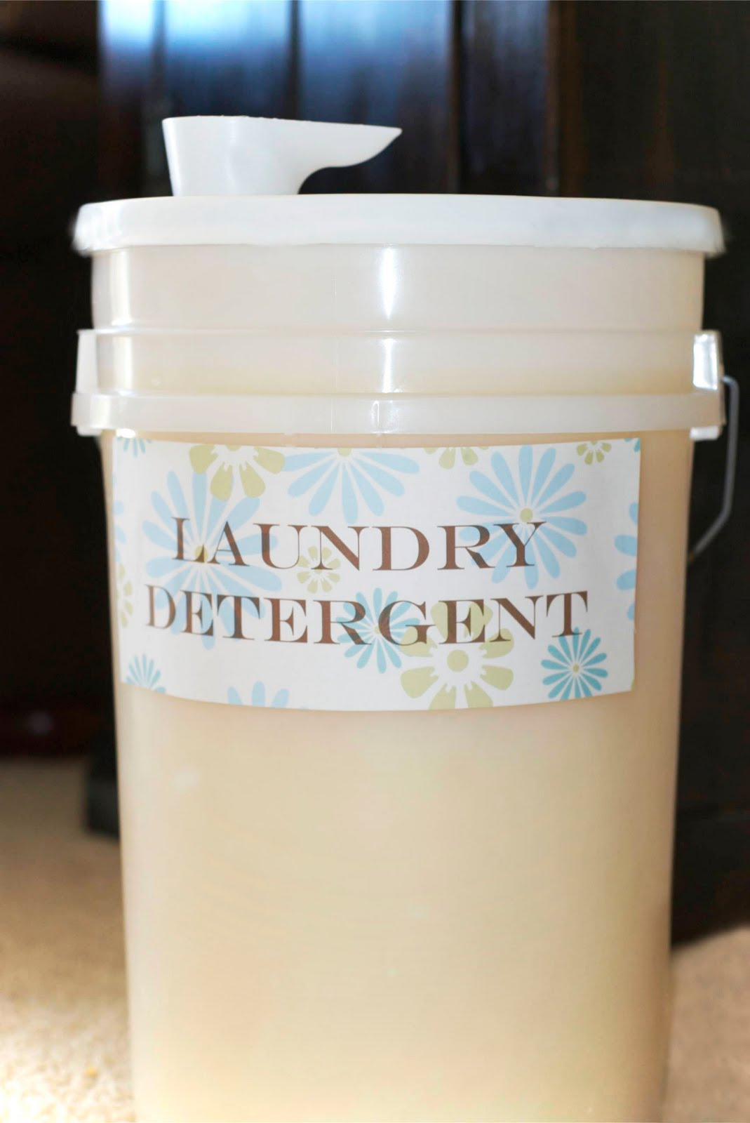 Daybell Family Homemade Liquid Laundry Detergent