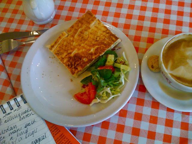 focaccia sandwich at Gran Sasso
