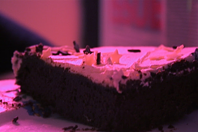Venus in Taurus: Negre en chemise, with chocolate stars on top courtesy of Petra Chocstar