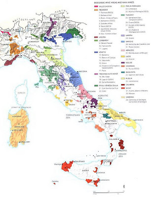 Map of Barolo Wine Region http://westudywine.blogspot.com/2009/04/map-of-italian-wine-regions.html