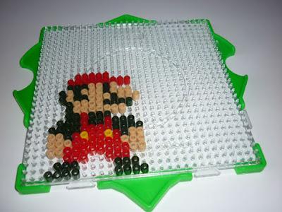 le blog de mima: diy : perles hama et jeux vidéo