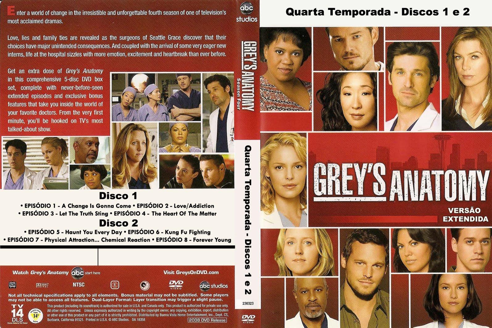 Charmant Greys Anatomy Serie 2 Zeitgenössisch - Anatomie Von ...