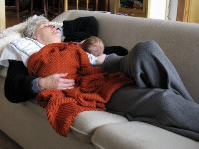 Grandma and Rocket
