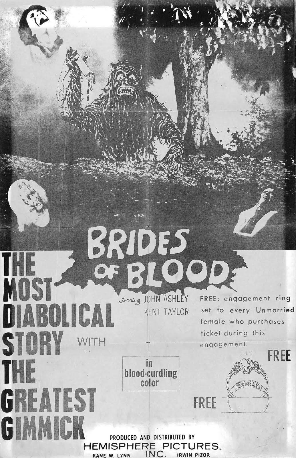 brides of blood poster 02 Latina Celeb Nude   Photo 5