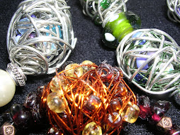 wire wrapped beads