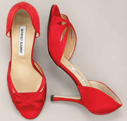 Manolo Blahnik Manolo-blahnik-satin-cross-dorsay
