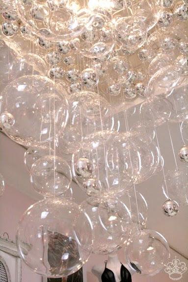 Bubble Chandelier Diy Frou Frou Fashionista Luxury Lingerie Blog