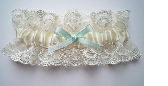 Сделать подвязку невесты своими руками