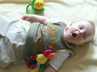 yawning kids