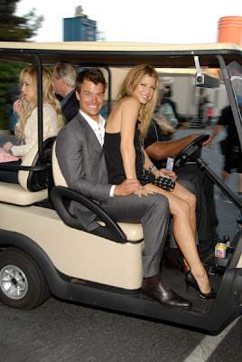 Josh Duhamel and Fergie. 2007 MTV Movie Awards. Los Angeles