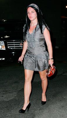 Britney Spears is a Brunette