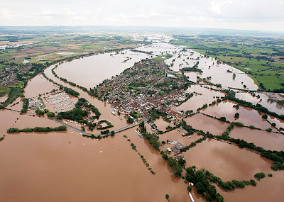 Flood in England