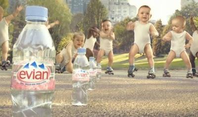 Evian ads