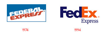 FedEx - Evolution of Logos & Brand