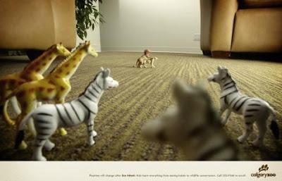 Calgary Zoo ads