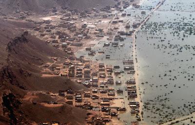 Storm in Yemen