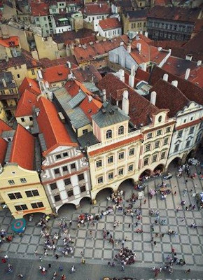 travel - Prague, Old Town Square, Old Town Hall Tower