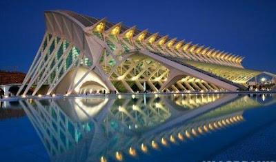 travel - Spain, Valencia, Principe Felipe Science Museum