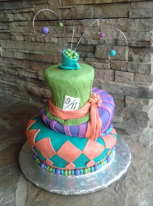 Cakes By Narleen Kristel My Mad Hatter Birthday Cake