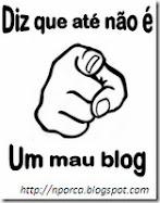 """Premio """"Este no es un mal blog"""""""