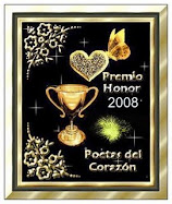 PREMIO HONOR 2008: POETAS DEL CORAZON
