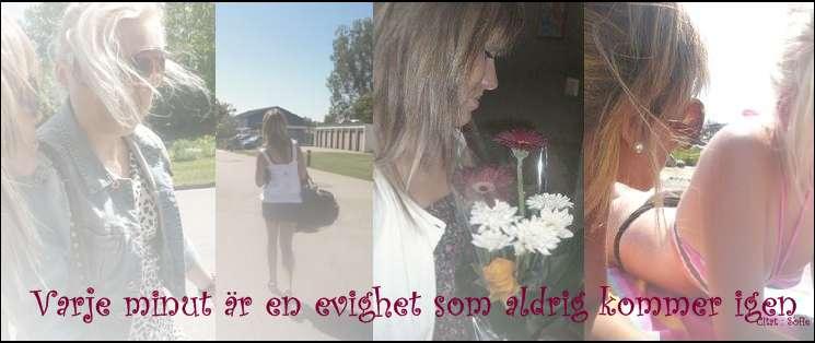varje minut är en evighet som aldrig kommer igen