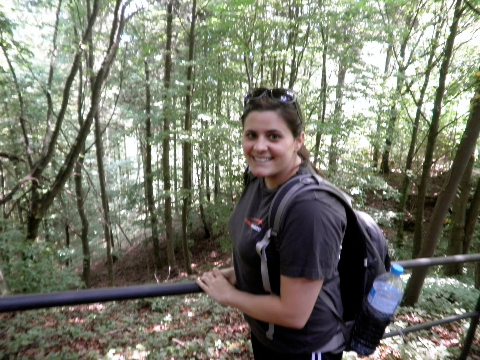 hiking through Baden-Baden,Germany